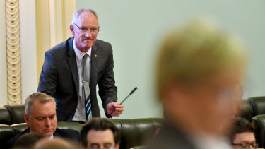 As the leader of a party of one, Steve Dickson cuts a lonely figure in Parliament.