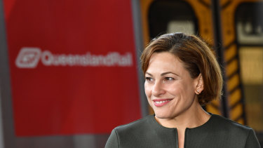 Transport Minister Jackie Trad says the Cross River Rail project creates further momentum for Brisbane Live.