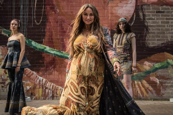 Kaftan queen takes catwalk honour