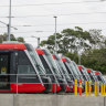 Sydney's troubled light rail line set for staged opening to passengers