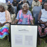 Historic handback of Kakadu town to Mirarr traditional owners
