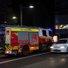 Emergency services were called to Bondi Beach about 12.40am this morning