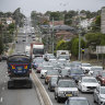 Thousands of vehicles flooding Sydney roads to avoid toll