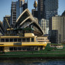 Emerald ferries sail into Sydney Harbour on way to replace Freshwaters