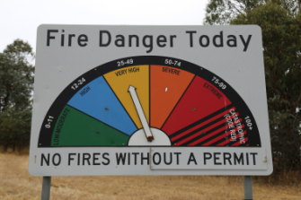 A total fire ban has been declared for the ACT.