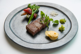 The Wagyu beef at Koko.