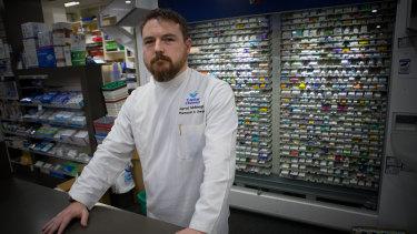 Pharmacist Jarrod McMaugh.