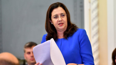Queensland Premier Annastacia Palaszczuk says legislation banning political donations from developers will be introduced this week.