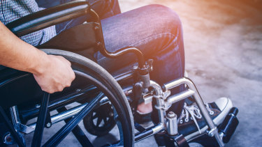 There are 6000 young people with disabilities living in aged care accommodation.