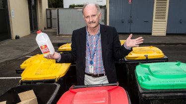 Moyne Shire director of sustainable development Oliver Moles is concerned about where his council's recycling will end up.