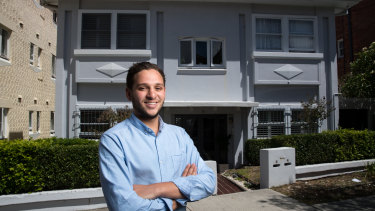 Marc Burman, 20, says investing through BrickX is a stepping stone to one day buying an entire property.