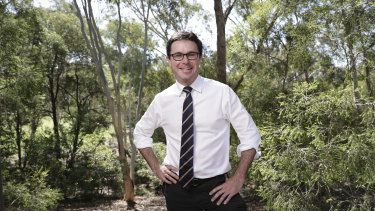 Minister for Agriculture and Water Resources, David Littleproud