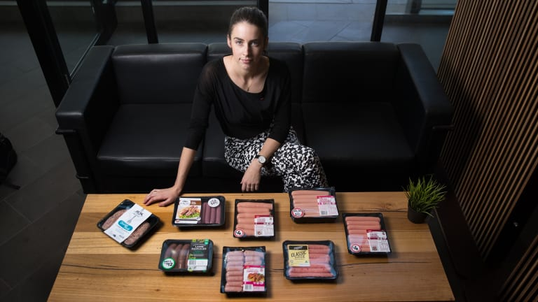 Heart Foundation Victoria dietitian Sian Armstrong says the salt content of many sausages is concerning.