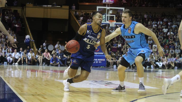 Brisbane import Stephen Holt came off the bench to score nine points for the Bullets.