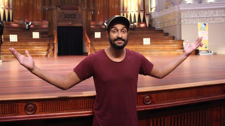 Matt Okine will perform at the 2018 Brisbane Comedy Festival.
