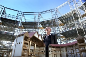 'Amazing': Academic's dream of a new Shakespearean theatre comes to life