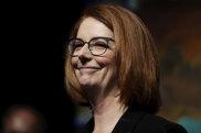 Former prime minister Julia Gillard