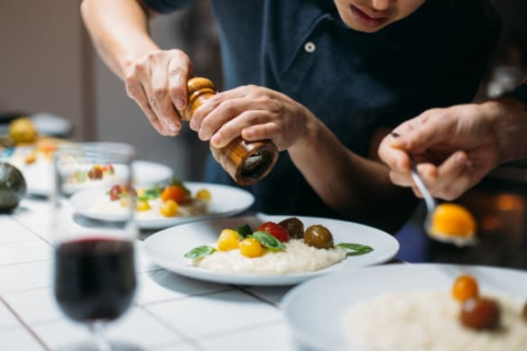The dinner party is no longer serving its purpose