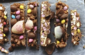 The ultimate Easter rocky road recipe