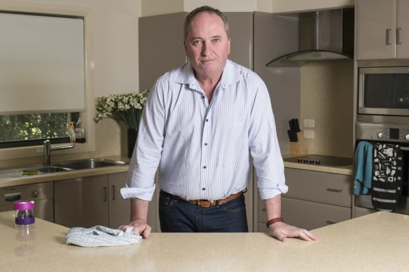 'We've been forced out': Barnaby Joyce and Vikki Campion's first interview