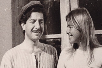 Leonard Cohen and Marianne Ihlen in their early days together on Hydra.