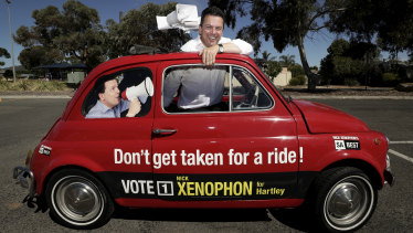 Expectations for Nick Xenophon's SA Best party were high when the campaign began.