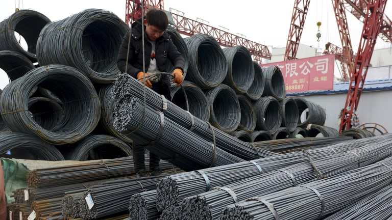 China's response to Donald Trump's 25 per cent tarriff on imported steel has been muted, so far.