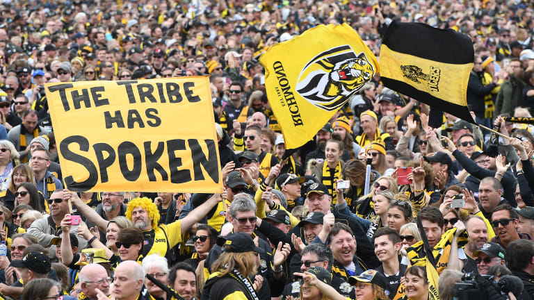 The Tiger army will be out in force for round one.