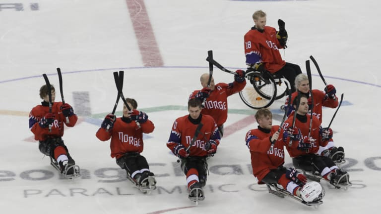 Australia could be playing against teams such as Norway in para ice hockey at the next winter Paralympics.