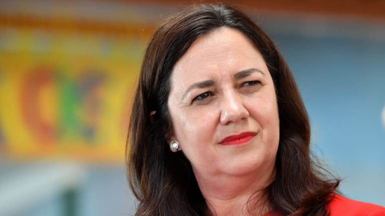 Premier Annastacia Palaszczuk has sought to link Tim Nicholls' campaign to his time as treasurer in Campbell Newman's LNP government.