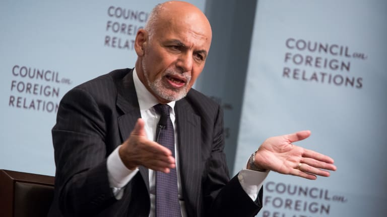 Ashraf Ghani, Afghanistan's President, has offered a pact with the Taliban to recognise them as a legitimate party.