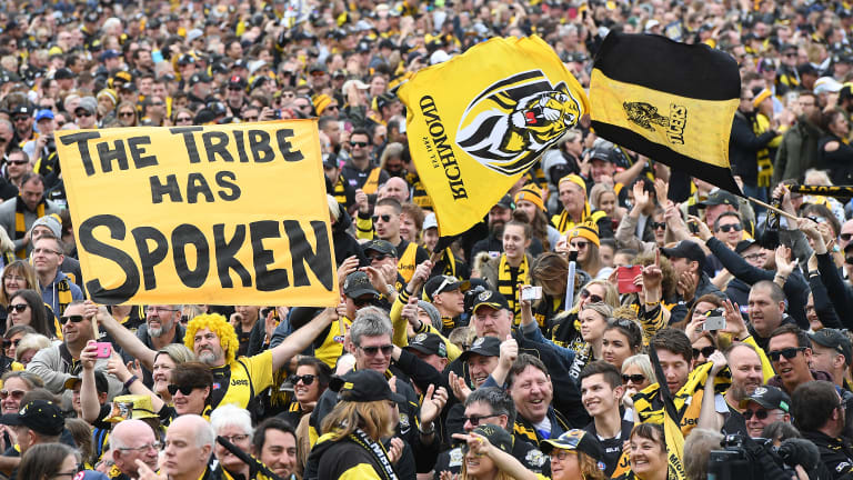 The resurgent Tiger army in full force.