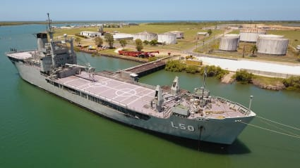 Another navy ship to be sunk off the Queensland coast