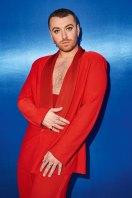 Non binary: British singer Sam Smith.