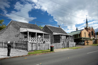 James Drevesen, the first person struck down in the 1900 outbreak in Brisbane, lived in the timber cottage on the left.
