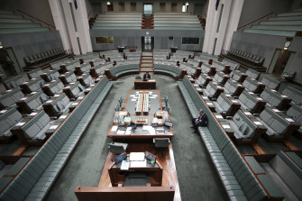 The House of Representatives, Canberra.