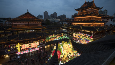 Consumers were opening their wallets during the Chinese New Year holiday.