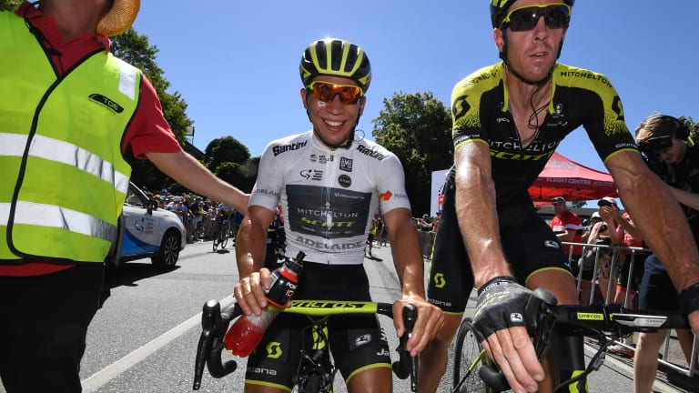 Australian rider Caleb Ewan has won another race in a strong start to the year.