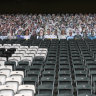 Clock ticks for board Magpies fans as AFL backs canned noise