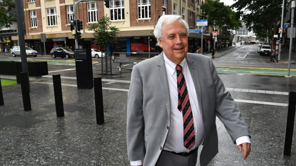 Judge rejects Clive Palmer's recusal application