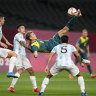 Tokyo Olympics as it happened: Olyroos win 2-0 against Argentina