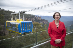 Anthea Hammon of Scenic World in Katoomba is looking forward to reopening some time next month.