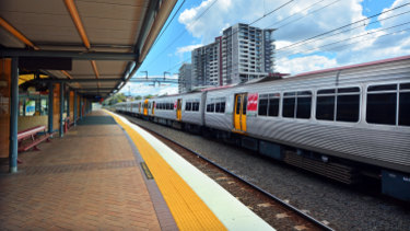 The incident occurred near Roma Street station.
