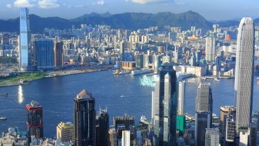 Hong Kong looks increasingly vulnerable to financial stress, analysts say.