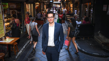 Melbourne City councillor Rohan Leppert will run for lord mayor