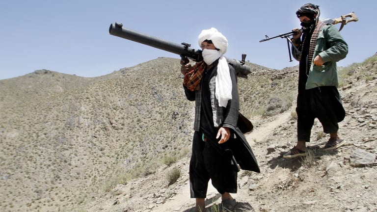 The Taliban said they would meet with the US government but not the Afghanistan government, which they claim is a US puppet that does not represent the people.