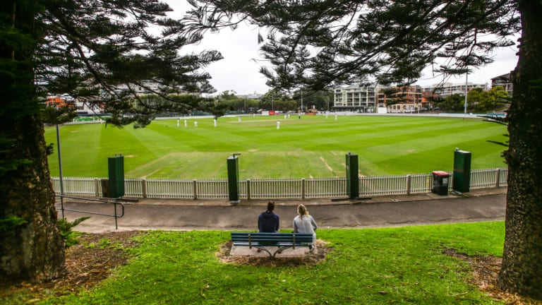 A car park was to be built under Manly Oval.
