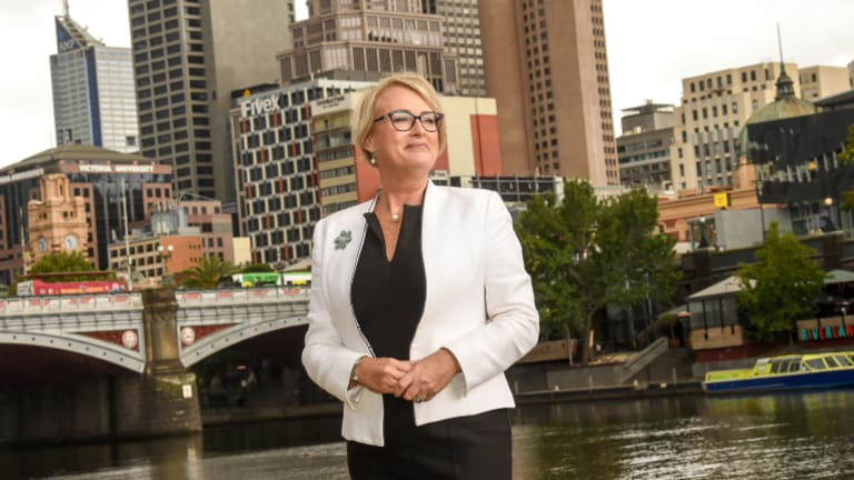 Sally Capp announced her candidacy on Thursday.