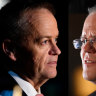 As polling day dawns, Morrison and Shorten in a race to the finish line