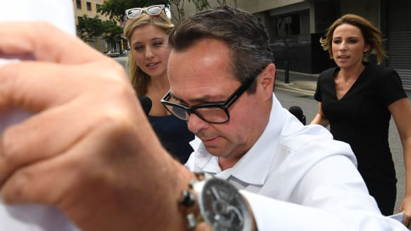 Property boss on bail after fronting court over million-dollar plot